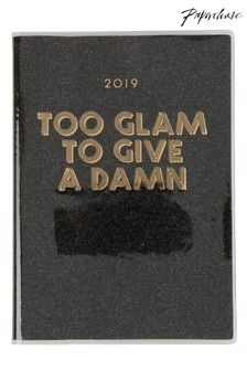 Paperchase A5 Glam Glitter Diary