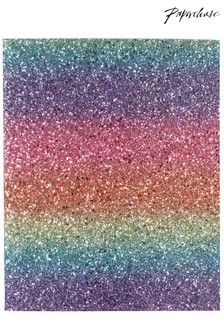 Paperchase Glitter Is The New Black Notepad