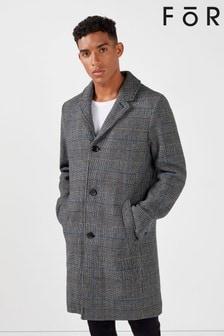For Smart Check Coat