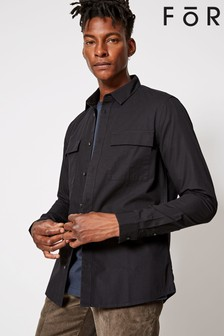 For Double Pocket Over-Shirt