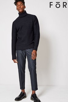 For Twill Regular Fit Trousers