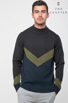 2nd Chapter Turtle Neck Jumper