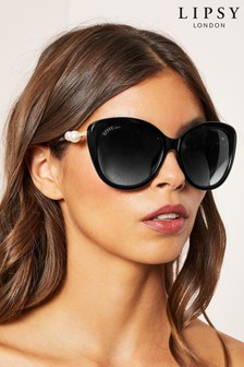 Lipsy Pearl Cat Eye Sunglasses