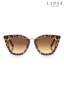 Lipsy Tortoise Shell Cat Eye Sunglasses