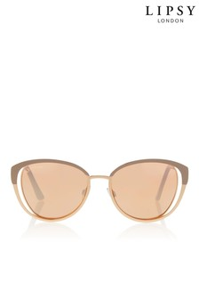 Lipsy Trim Mirror Sunglasses