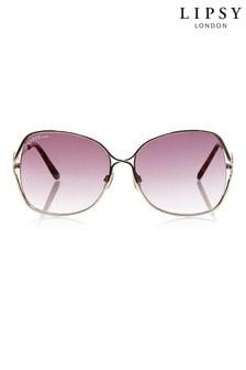 Lipsy Butterfly Bridge Sunglasses