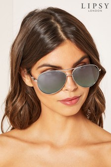 Lipsy Diamanté Bridge Sunglasses
