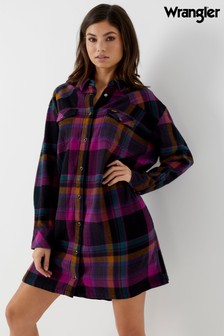 Wrangler Flannel Check Dress