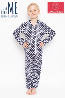 Minijammies Polka Dot Print Pyjama Set