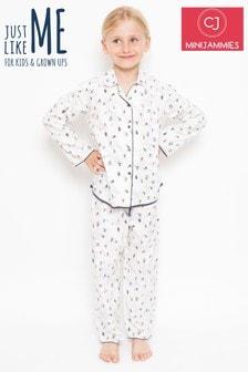 Minijammies Ski Print Pyjama Set
