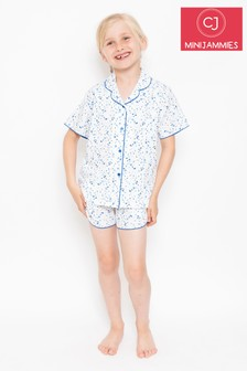 Minijammies Ink Spot Print Pyjama Set
