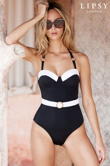 Lipsy Belted Swimsuit