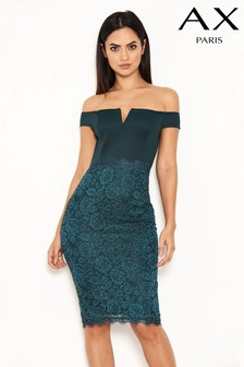 AX Paris 2 In 1 Lace Midi Dress