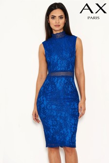 AX Paris Lace Midi Bodycon Dress