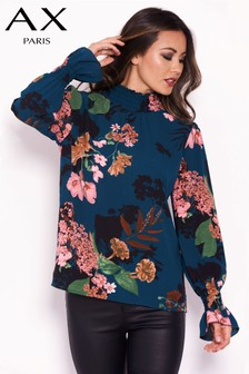 AX Paris Floral Printed Top