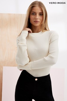 Vero Moda High Neck Knitted Jumper