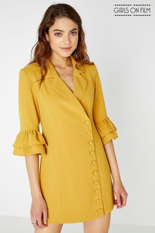 Girls On Film Blazer Dress
