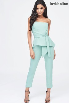 ebcf2659255 Lavish Alice Origami Folded Jumpsuit