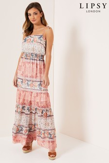 Lipsy Boho Paisley Cami Maxi Dress
