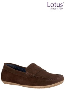 Lotus Casual Leather Loafers
