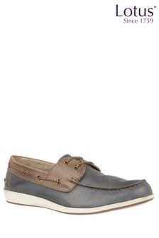Lotus Boat Shoes
