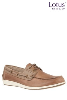 Lotus Leather Boat Shoes