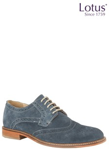 Lotus Leather Brogue Shoes