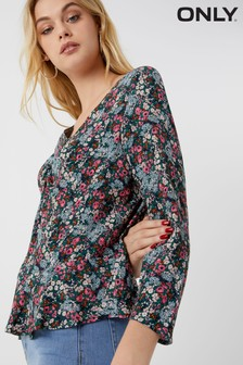 Only Floral Print Top