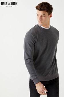 Only & Sons Basic Crew Neck Sweatshirt