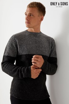 Only & Sons Colour Block Jumper