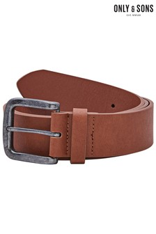 Only & Sons Faux Leather Belt