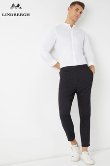 Lindbergh Structure Relaxed Side Tape Trousers