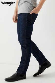 Wrangler Slim Fit Tapered Resin Jeans