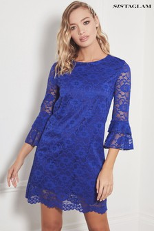 Sistaglam All Over Lace Dress