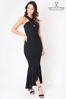 Want That Trend Abendkleid im Meerjungfrau-Stil