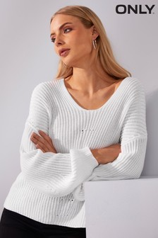 Only V neck Jumper