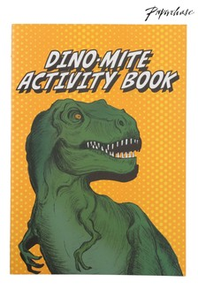 Paperchase Ok Play A5 Dino Activity Book