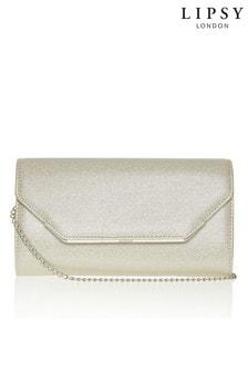 Lipsy Shimmer Clutch Bag