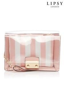 Lipsy Stripe Cross Shoulder Bag