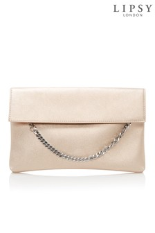 Lipsy Chain Detail Clutch Bag