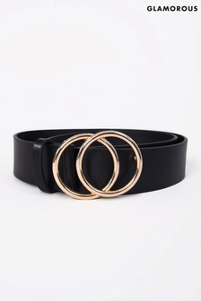 Glamorous Double Ring Detail Belt