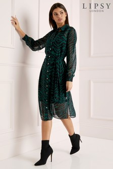 73512da232c1 Lipsy Animal Print Dresses | Casual & Partywear Dresses | Next Ireland