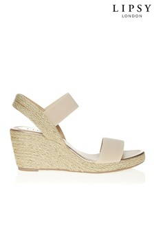 a1c46cd580e8 Lipsy Low Espadrille Wedges