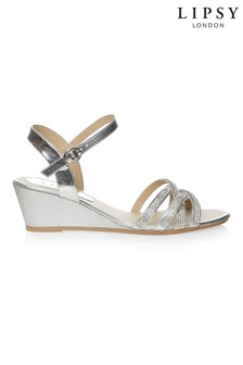 d77a52e3f7 Womens Silver Footwear | Silver Sandals, Wedges & Slippers | Next