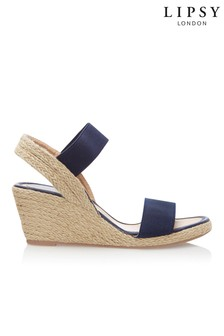cdef609c8381 Lipsy Low Espadrille Wedges