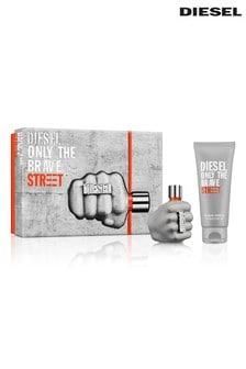 Diesel Only The Brave Street Eau de Toilette 50ml & Shower Gel 100ml Gift Set