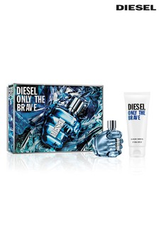 Diesel Only The Brave Eau de Toilette 50ml & Shower Gel 100ml Gift Set
