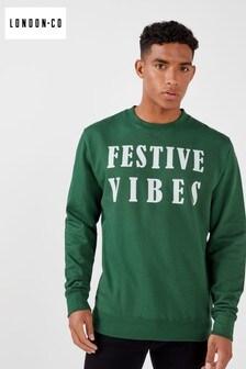 London Co Festival Vibes Christmas Sweatshirt