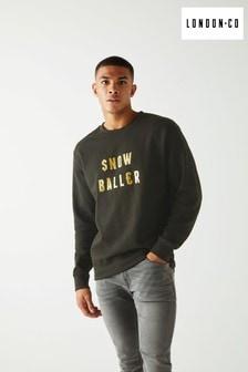 London Co Snow Baller Christmas Sweatshirt