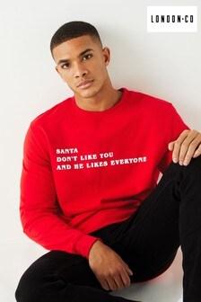 London Co Santa Christmas Sweatshirt